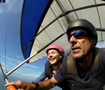 Rio Hang Gliding smile