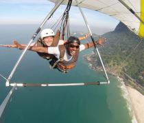 Tandem Hang Gliding in Rio