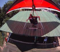 Hang Glider launching from Pedra Bonita